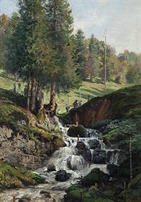 le cours de la ronde, histoire d'un ruisseau by edouard jeanmaire