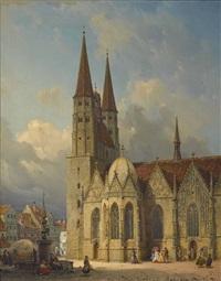 die st. martinskirche in braunschweig by michael neher