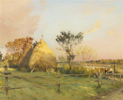 les meules equihen by jean charles cazin