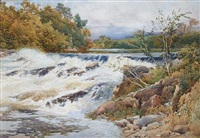 on the river eden, cumberland by george hodgson