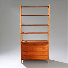 freestanding chest of drawers and bookshelves by ib kofod larsen - Free Standing Bookshelves