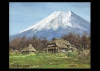 mt. fuji i by shigeo ishikawa