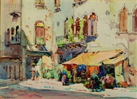 fruit stalls venice by john wesley cotton