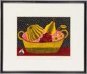 かぼちゃと果物 by yayoi kusama