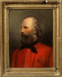 portrait of giuseppe garibaldi by eduard ritschl