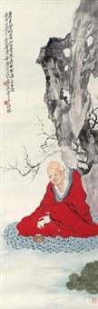 无量寿佛 (amitayus buddha) by xu ju'an