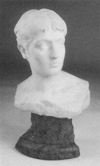 bust of a young beauty by j. arduino