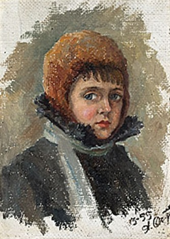 porträtt by anna petrovna ostroumova lebedeva