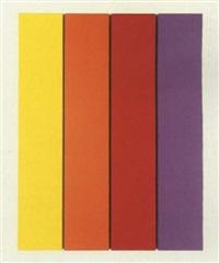 vier farbige streifen by hermann bartels