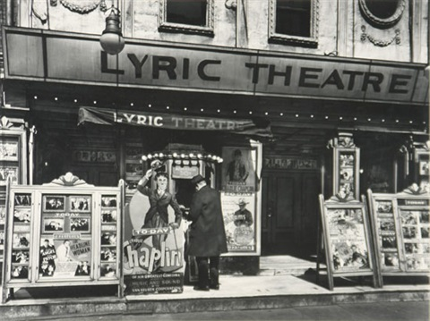 lyric theater by berenice abbott