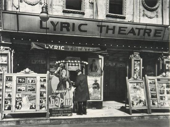 lyric theater by berenice abbott