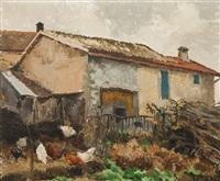 basse-cour by germaine hainard-roten
