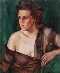 ritratto femminile by nicola fabbricatore