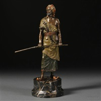figure of a persian warrior, by nam greb