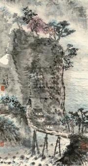 山水 (landscape) by xu yinghuai