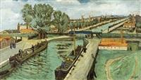 le canal saint-martin by alphonse léon quizet