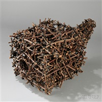 sculpture untitled (bundle) by john mcqueen