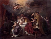 die beschneidung christi by nicolas (roose) de liemaker