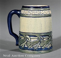 tankard by newcomb college pottery