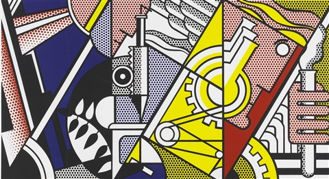 peace through chemistry ii by roy lichtenstein