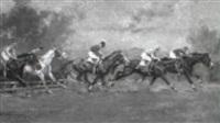 pferderennen by edouard elzingre