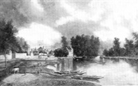 wickenham on thames by g. kenard
