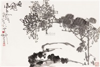 菊石图 by cui ruzhuo and jiang fengbai
