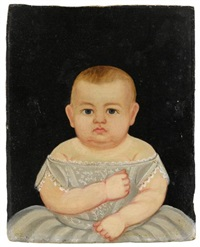 portrait of an infant by william kennedy