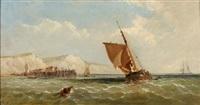 Stiff Breeze Off Dover, 1867