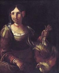 venditrice di polli by giacomo francesco cipper