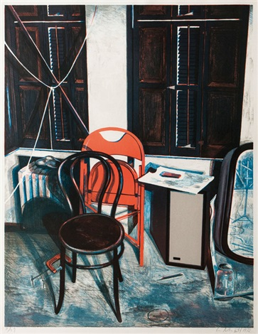 Studio Still Life By Lowell Nesbitt