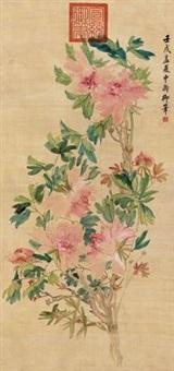 花卉 (peony) by emperor xuantong