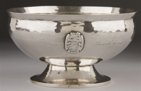 presentation bowl by william waldo dodge