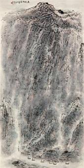 巫峡烟云 (landscape) by zhang wenjun