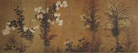autumn flowers (in 6 parts) by japanese school-rimpa (18)