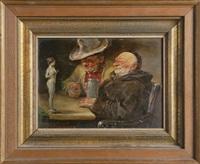 kunstfreunde by leonhard wilhelm lehmann