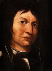 portrait eines kriegers by pietro muttoni