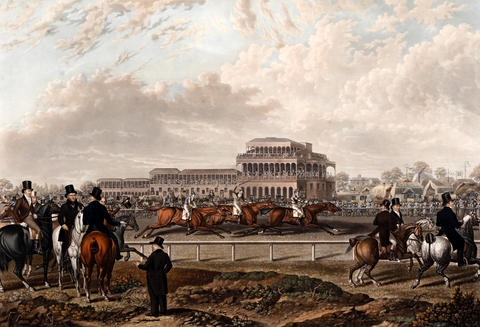 newton races 1831 filde beating halston and recovery after charles towne by charles hunt