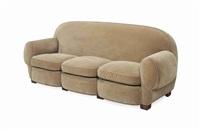 sofas (pair) by josef hoffmann