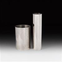 papierkorb & vase (pair) by franz hagenauer