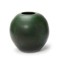 large round vase by herman august kähler