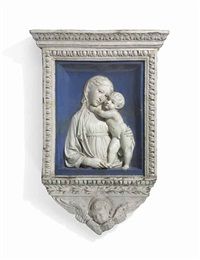 madonna and child by luca della robbia