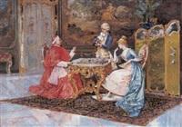 het schaakspel by carlo corradini