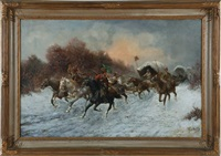 convoy of gold, siberia by adolf baumgartner jr.