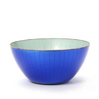 bowl enchased with stylized patterns by david andersen