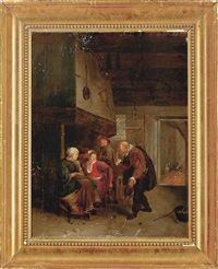 the old bachelor by jan steen
