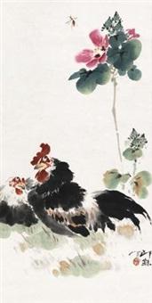芙蓉双鸡 by xiao lang