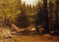 woodland pool by george hetzel