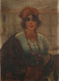 ritratto di donna by giuseppe maldarelli