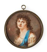 vilhelmina beck-friis (1775-1856) by johan erik bolinder